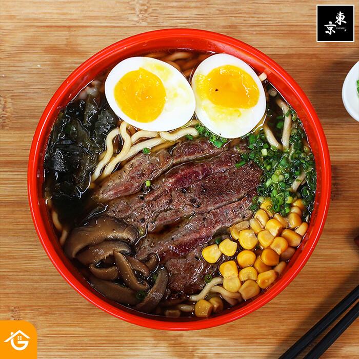 Beef Ramen (Frozen) - Tokyo Kitchen