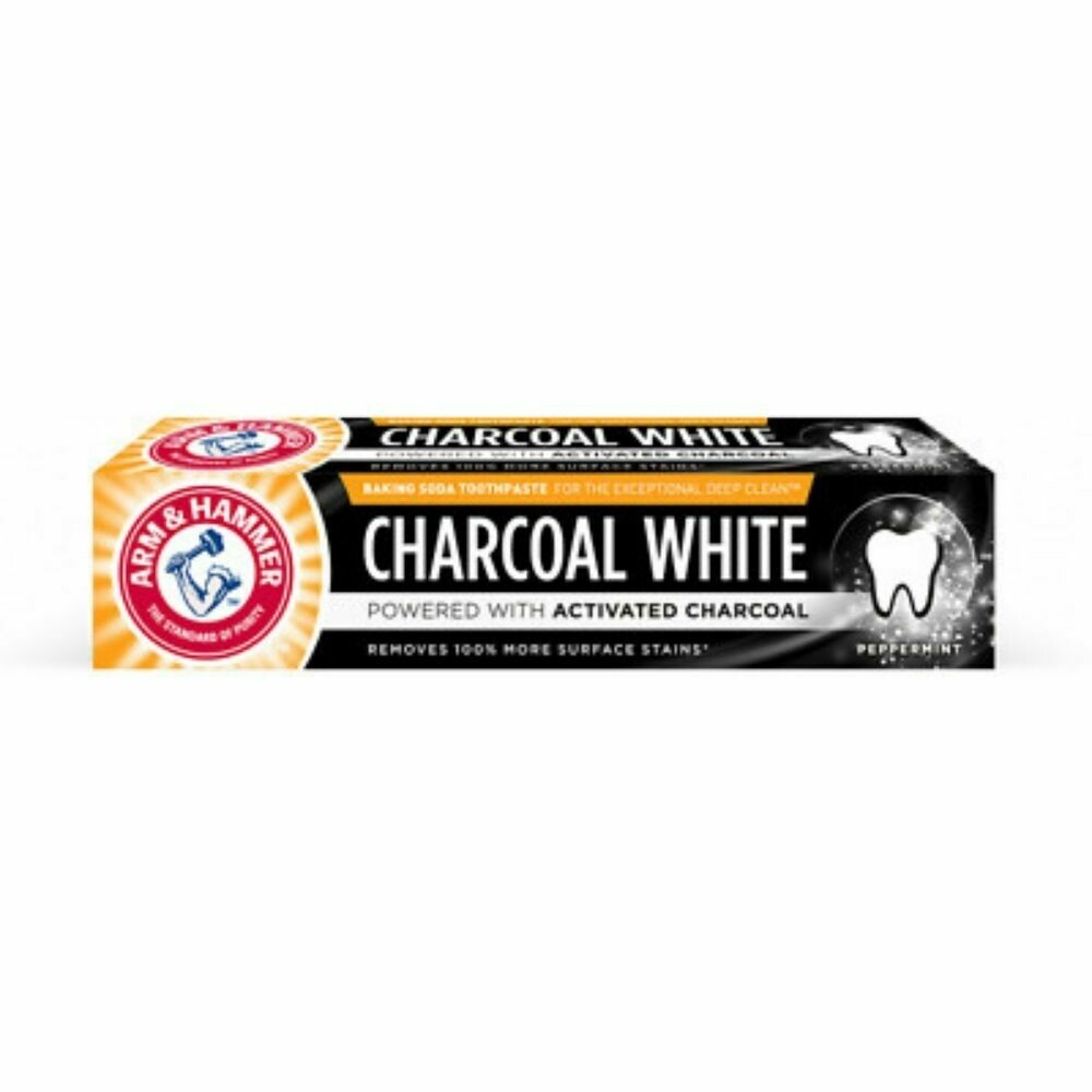 Arm & Hammer Charcoal White Toothpaste 75ml (UK)