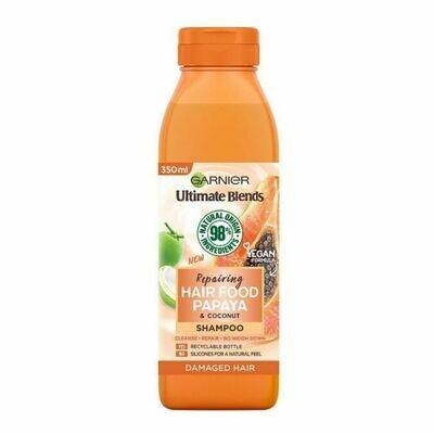 Garnier Repairing Hair Food Papaya Shampoo-(UK)
