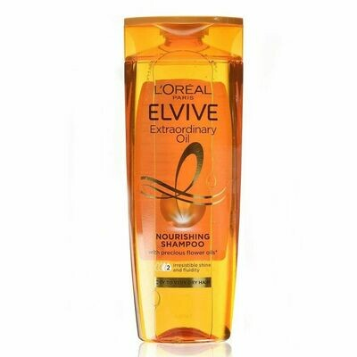L'Oréal Elvive Extraordinary Oil Shampoo for Dry Hair 400ml (UK)