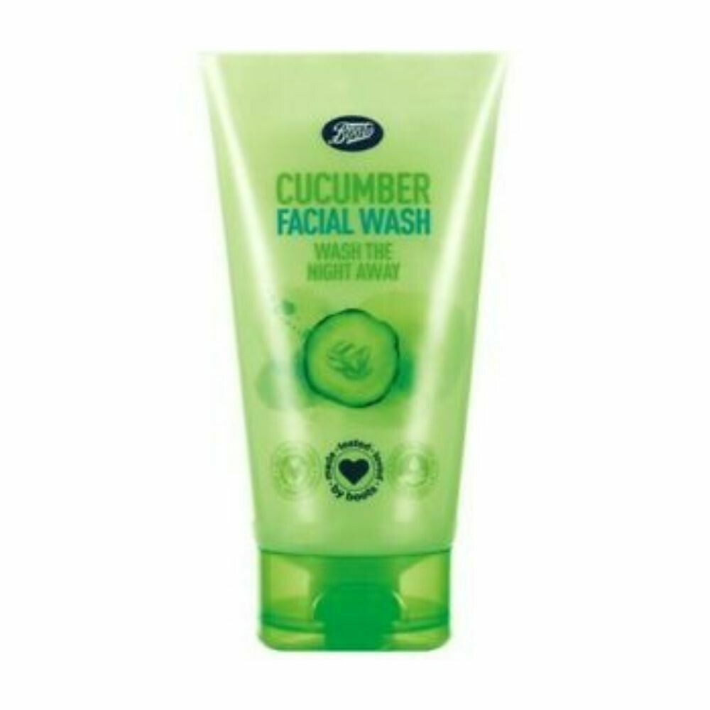 Boots Cucumber Facial Wash -150ml (UK)