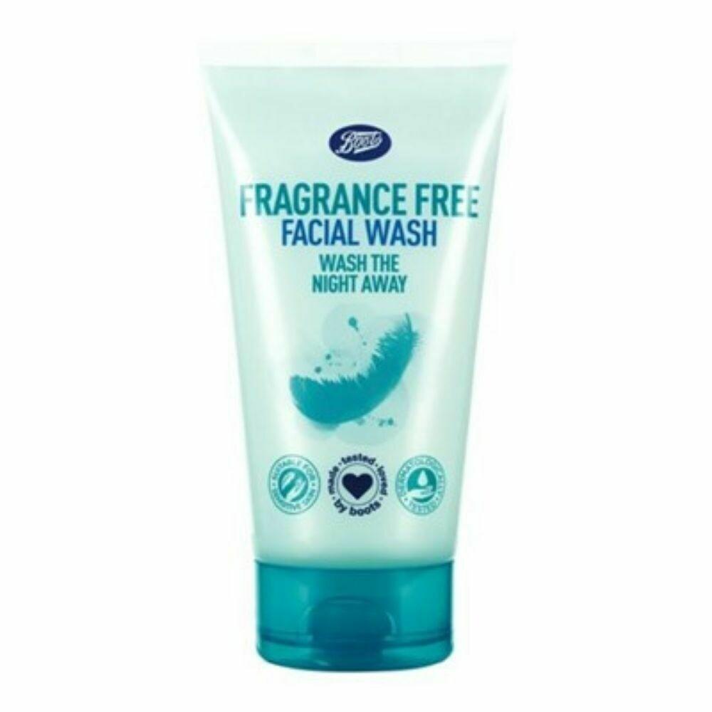 Boots Fragrance Free Facial Wash 150 ml (UK)