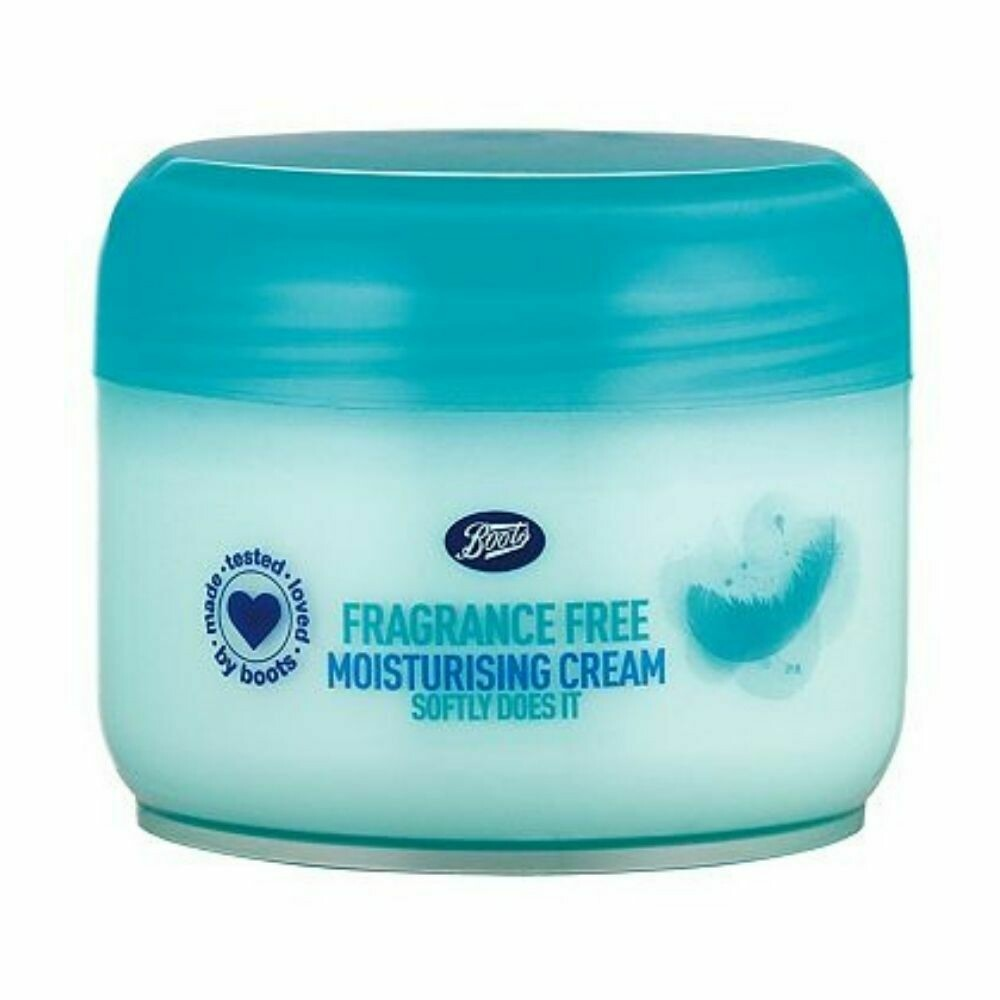 Boots Fragrance Free Moisturising Cream 100 ml (UK)