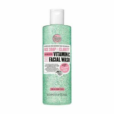 Soap and Glory Face Soap Vitamin C Facial Wash 350ml (UK)