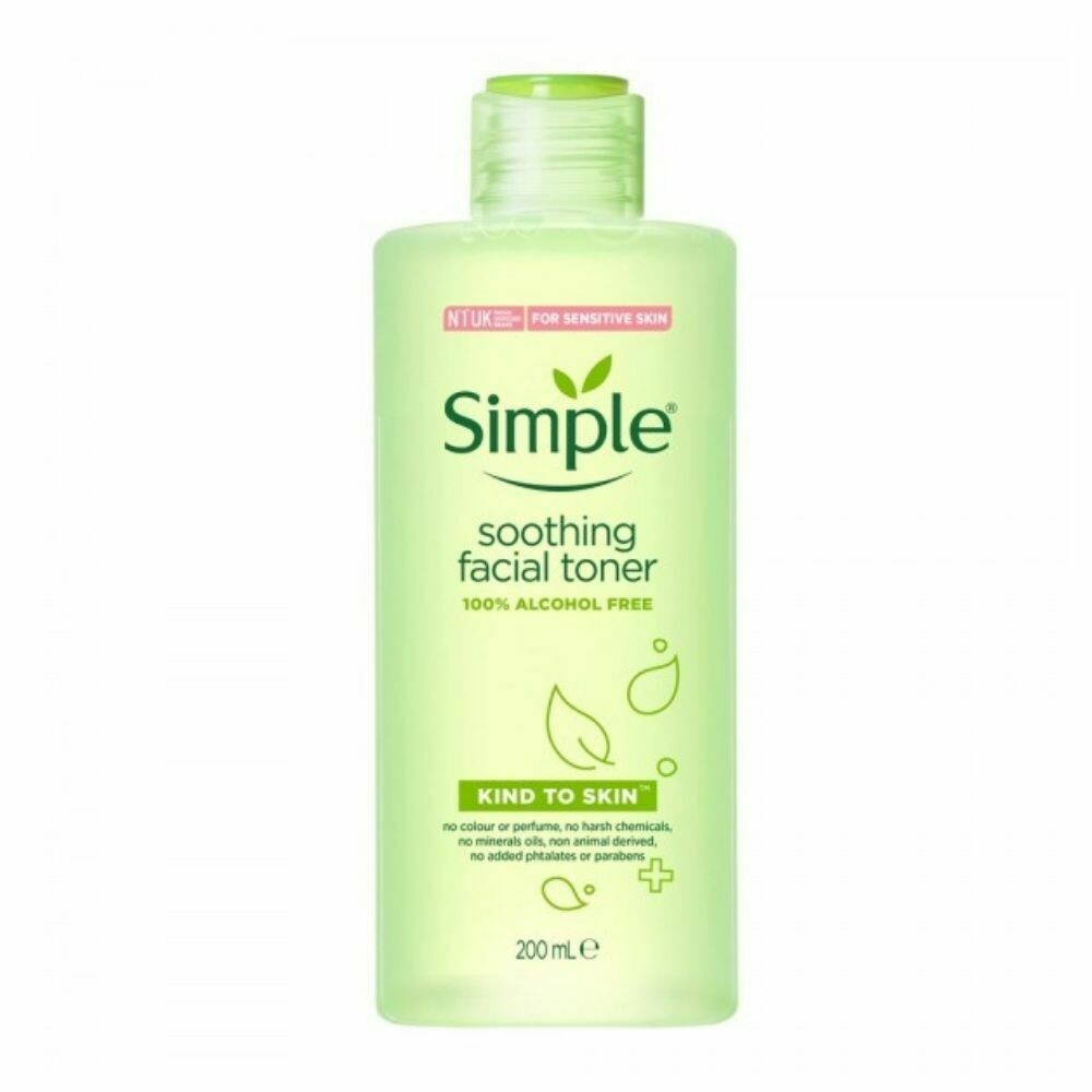Simple Kind To Skin Soothing Facial Toner 200ml (UK)
