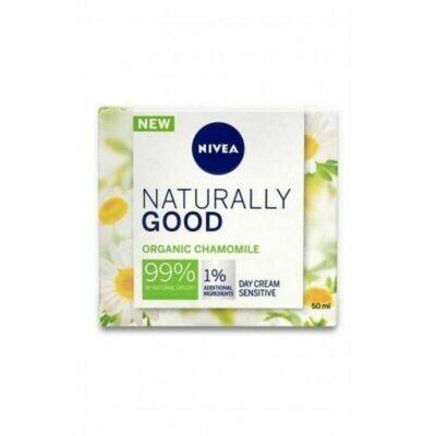 Nivea Naturally Good Chamomile Day Cream Sensitive 50ml (UK)
