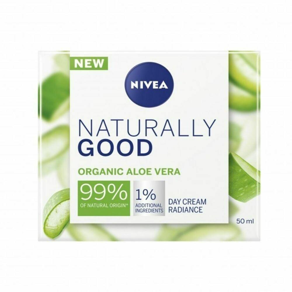 Nivea Day Cream With Organic Aloe Vera - 50ml (UK)