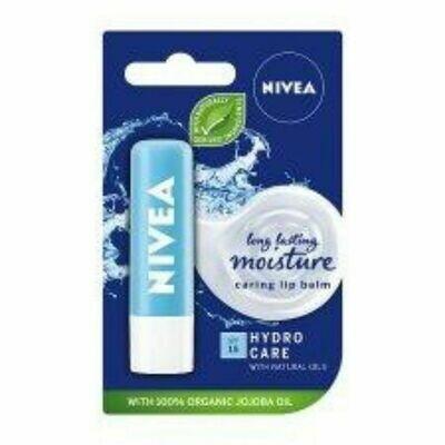 Nivea Lip Balm (UK)