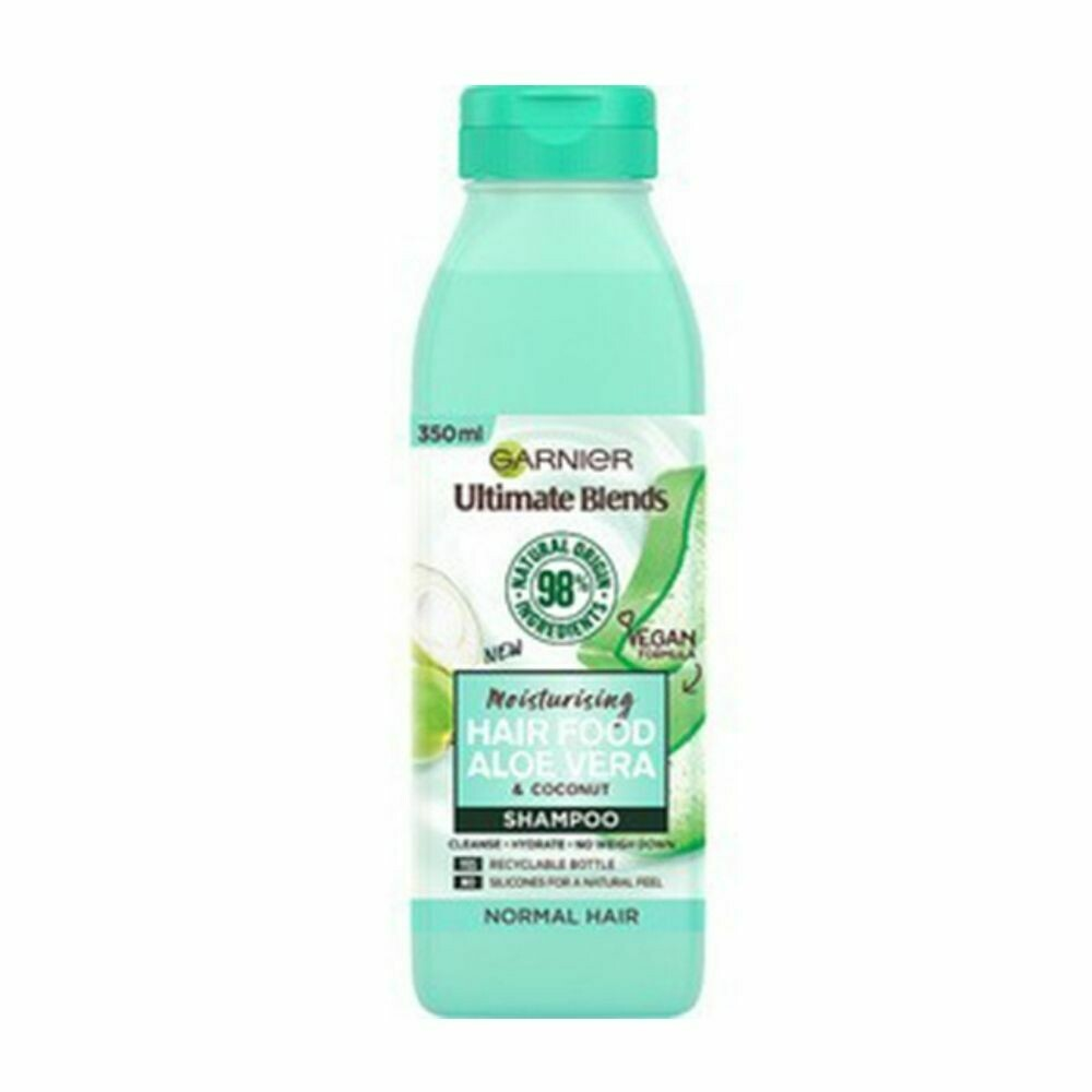 Garnier Moisturising Hair Food Aloe Vera & Coconut Shampoo-(UK)