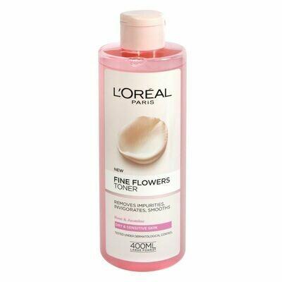 Loreal Fine Flowers Toner 400ml
