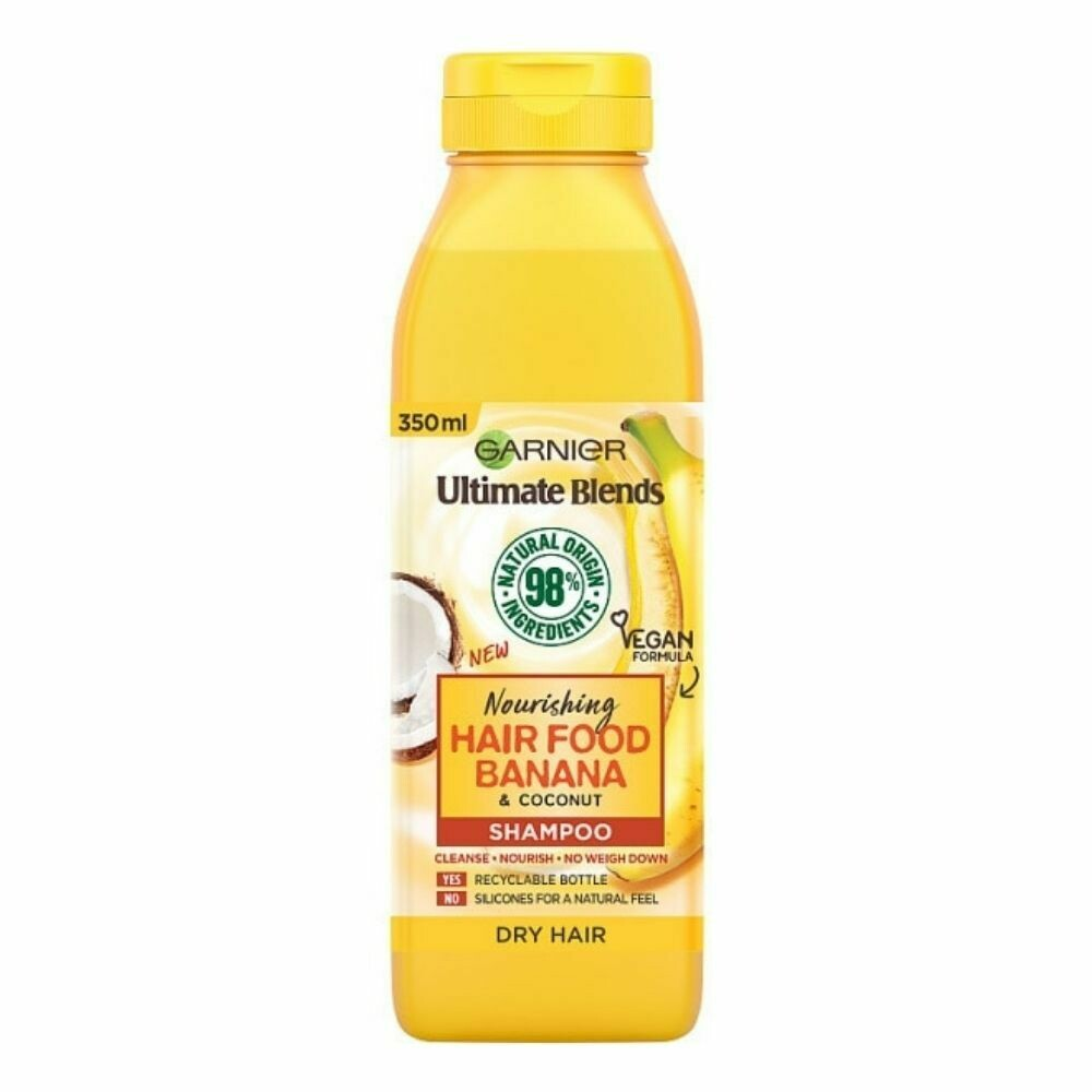 Garnier Ultimate Blends Banana Shampoo (UK)