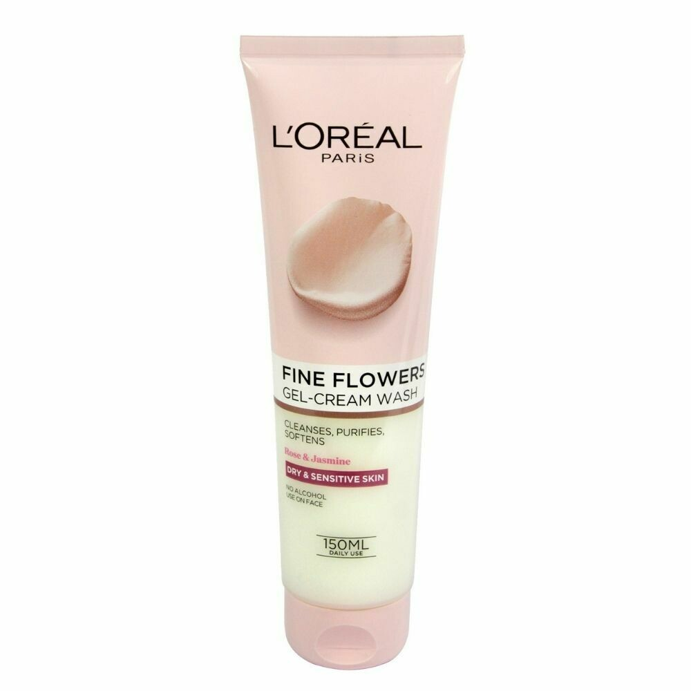 L'Oreal Paris Fine Flowers Gel-Cream Wash Sensitive 150ml