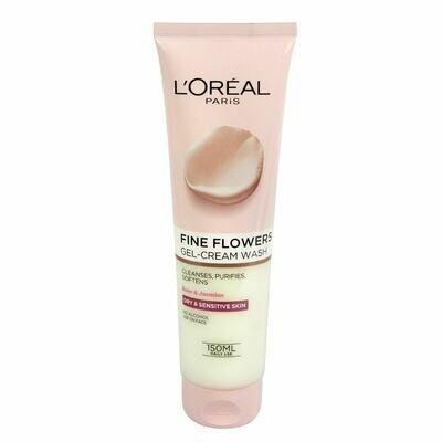 L'Oreal Paris Fine Flowers Gel-Cream Wash Sensitive 150ml