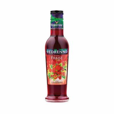 Vedrenne Strawberry Syrup 250ml