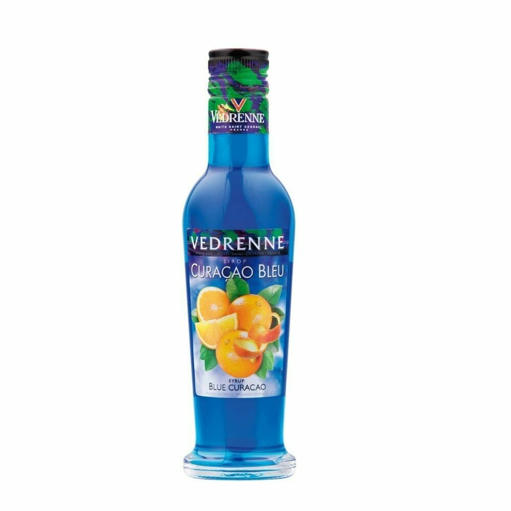 Vedrenne Blue Curacao Syrup 250ml