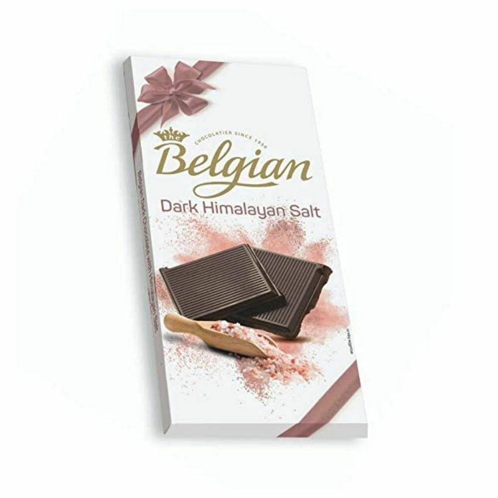 Belgian Dark Himalayan Salt Chocolate