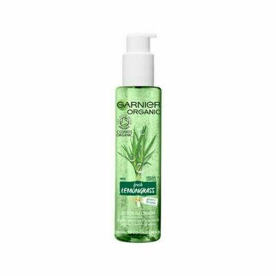 Garnier Organic Lemongrass Face Wash 150ml-Oxf