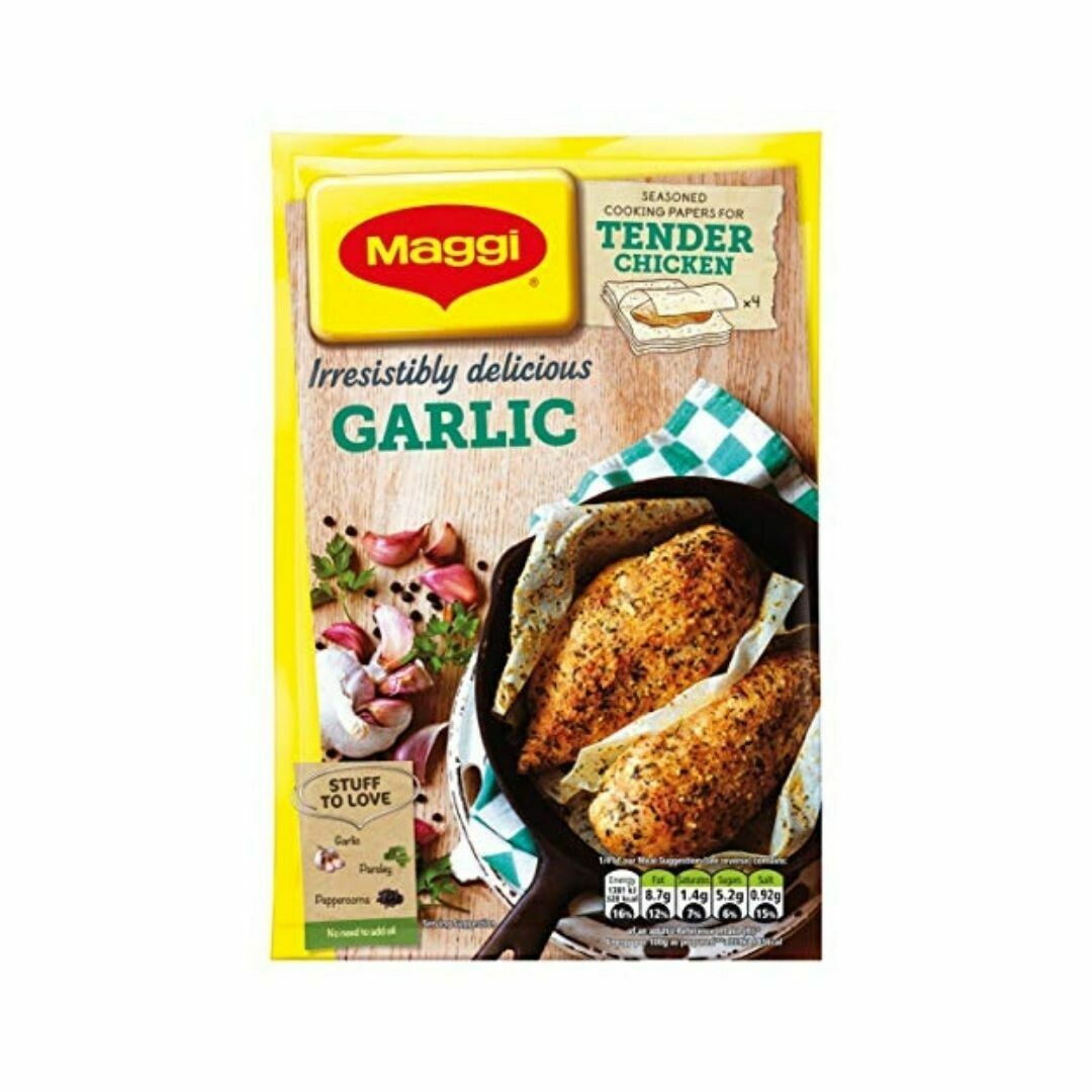 Maggi Irresistibly delicious Garlic