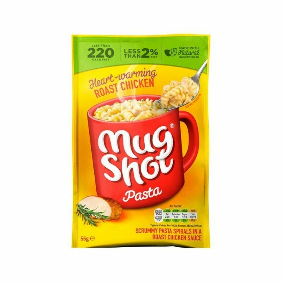 Roast Chicken Pasta - Mugshot