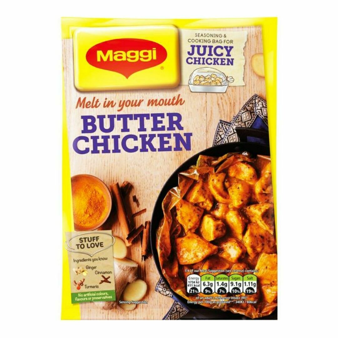 Maggi Butter Chicken - So Juicy