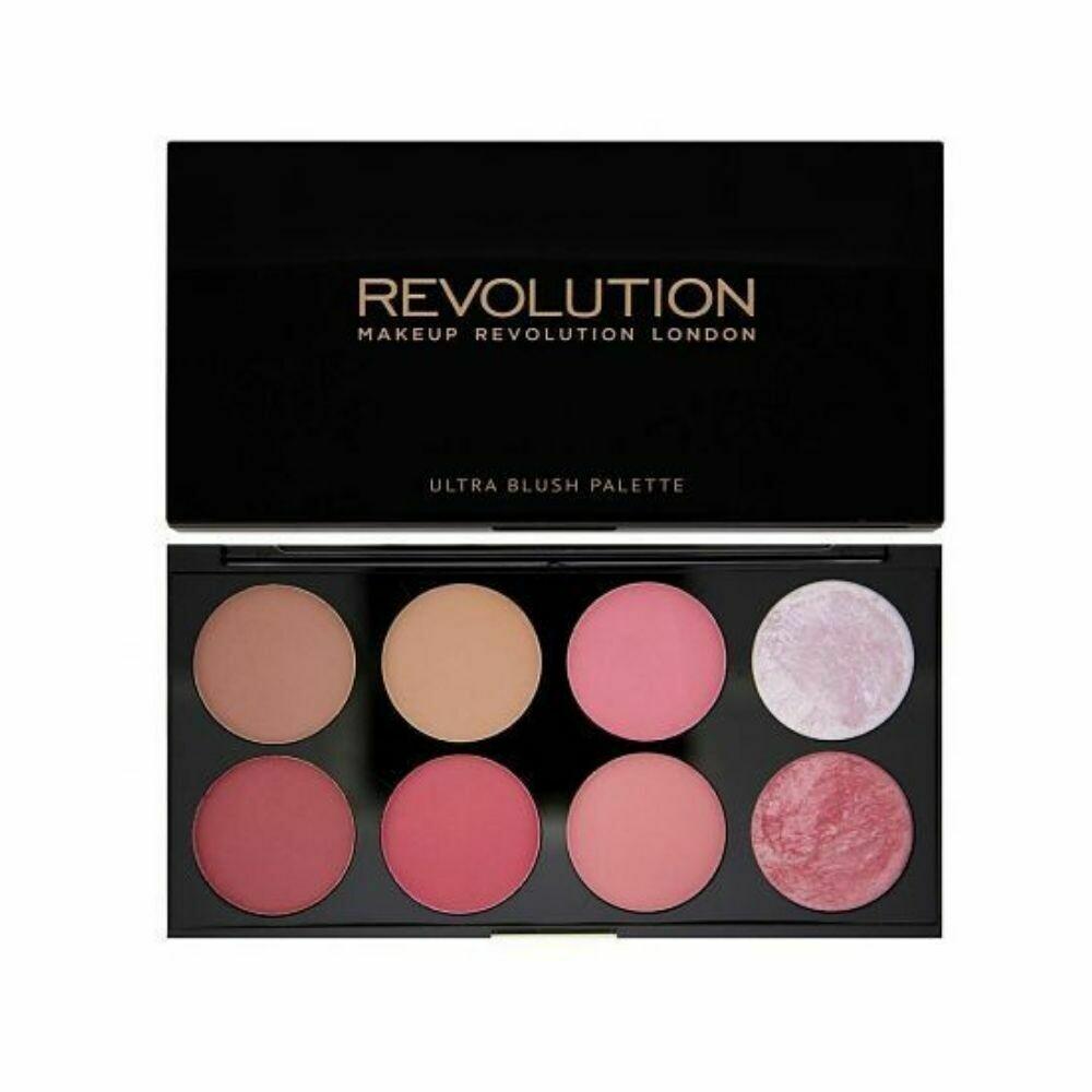 Makeup Revolution London Blush palette (Sugar & Spice)