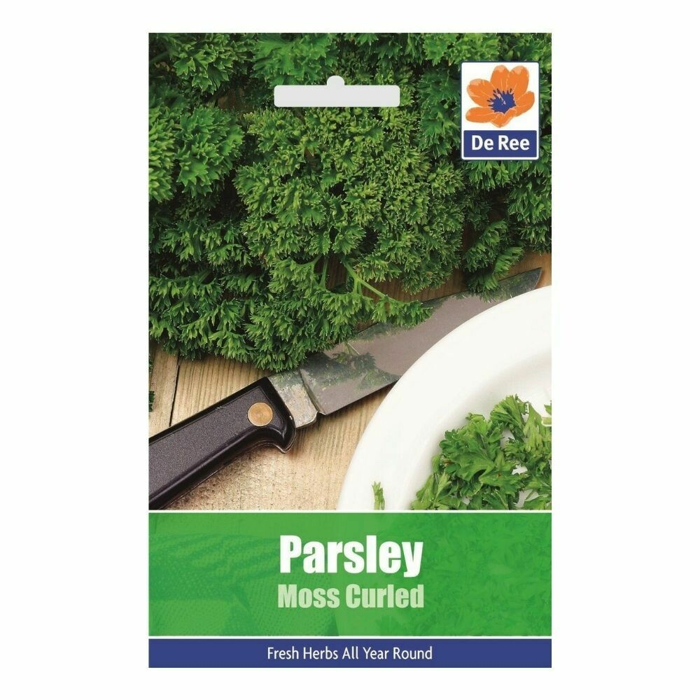 Herb Parsley Moss Curled Seeds