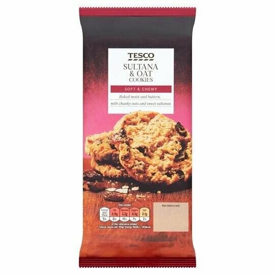 Tesco Sultana And Oat Cookies