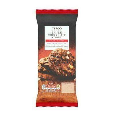 Tesco Triple Chocolate Cookies