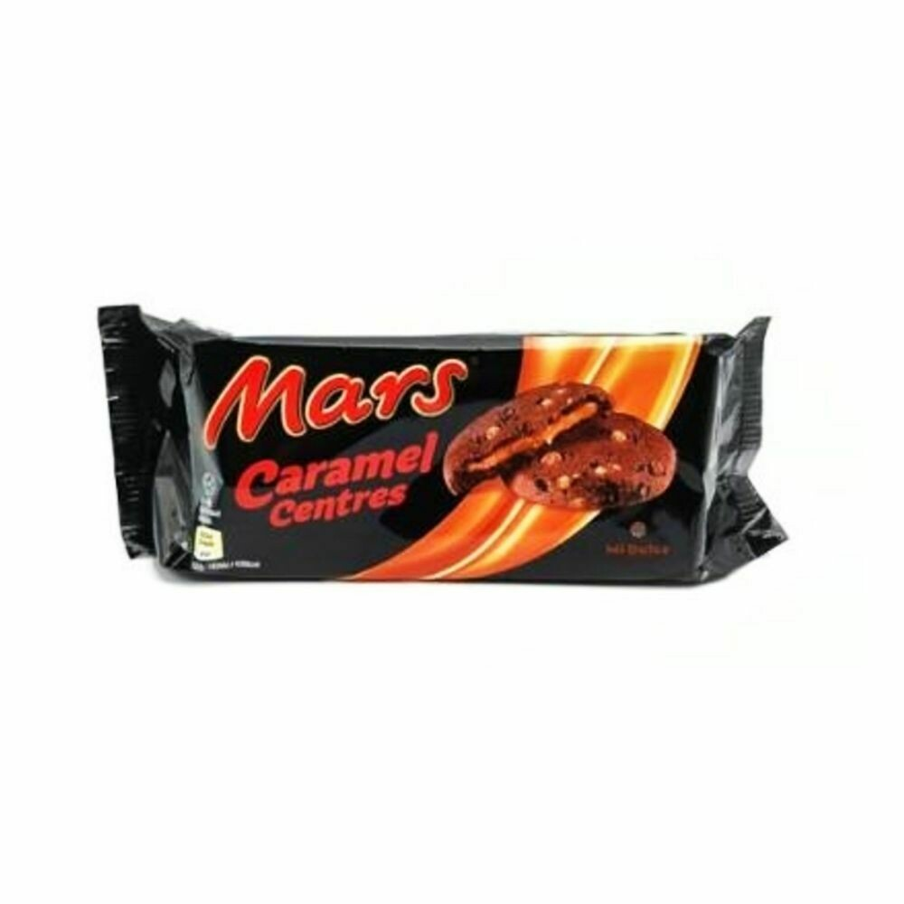 Mars Caramel Centre Chewy Chocolate Biscuits