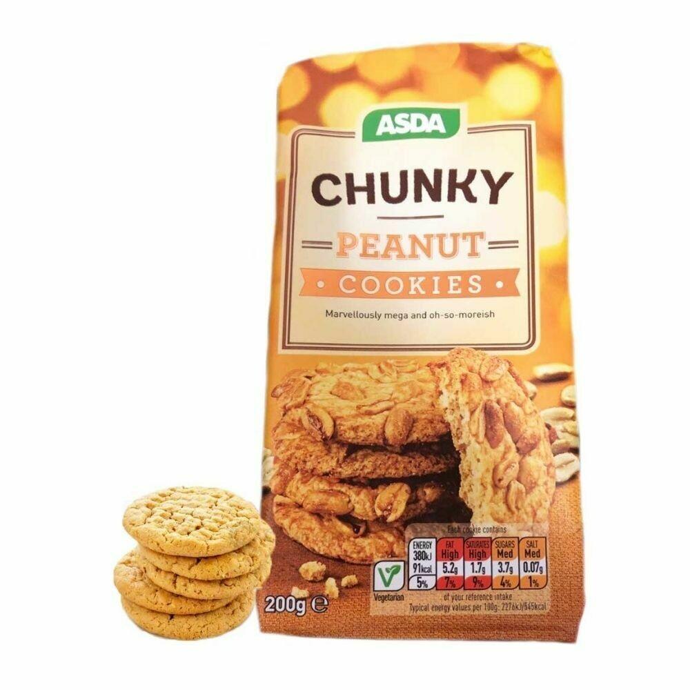 Asda Chunky Peanut Cookies