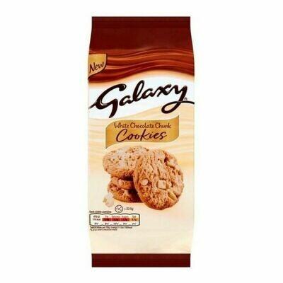 Galaxy White Chocolate Chunk Cookies