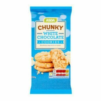 Chunky White Chocolate Cookies