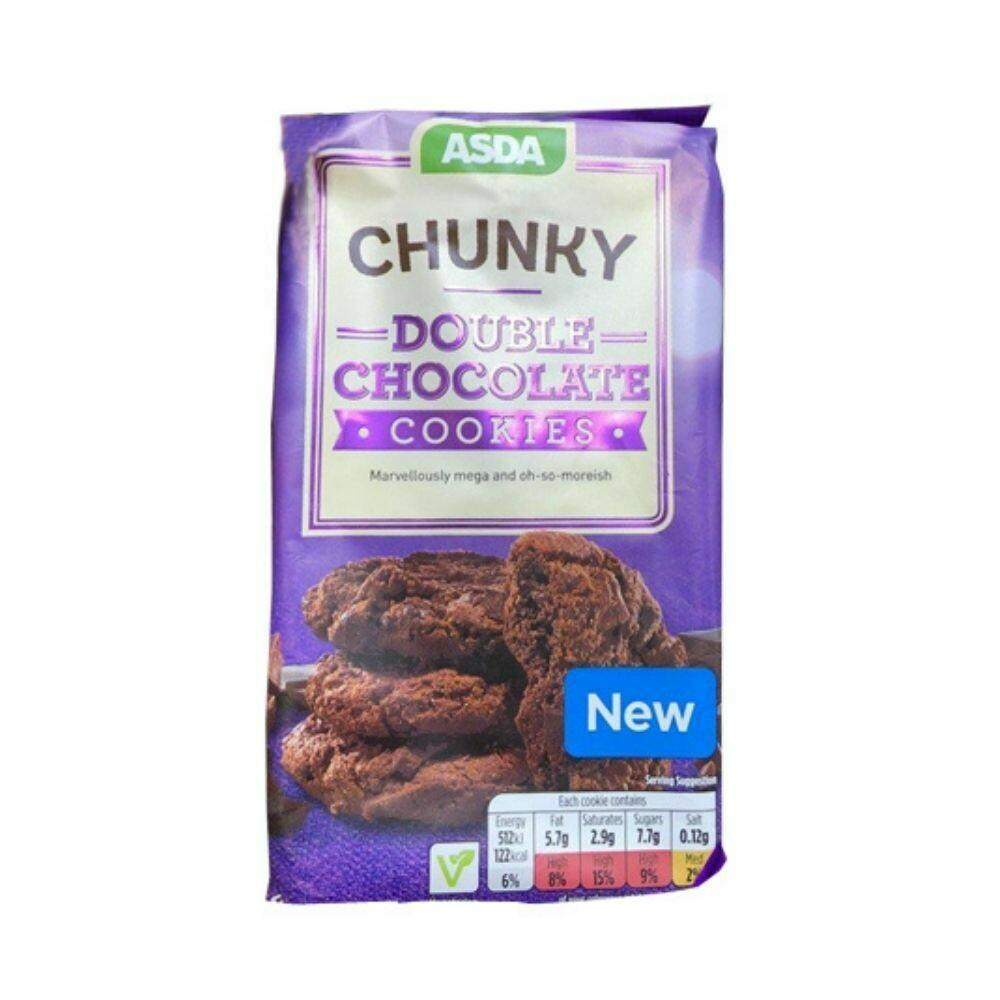 Chunky Double Chocolate Cookies