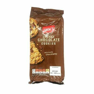 jack's Chunky Chocolate Cookies