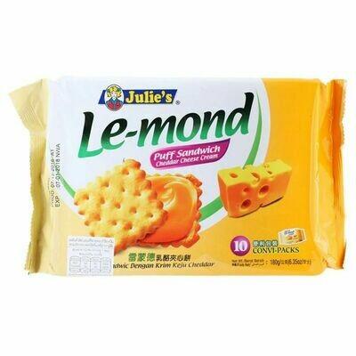 Julies Cheddar Cheese Cream Sandwich Biscuit