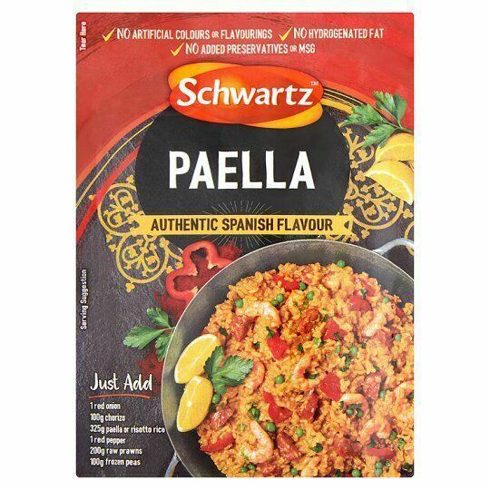 Schwartz Spanish Paella