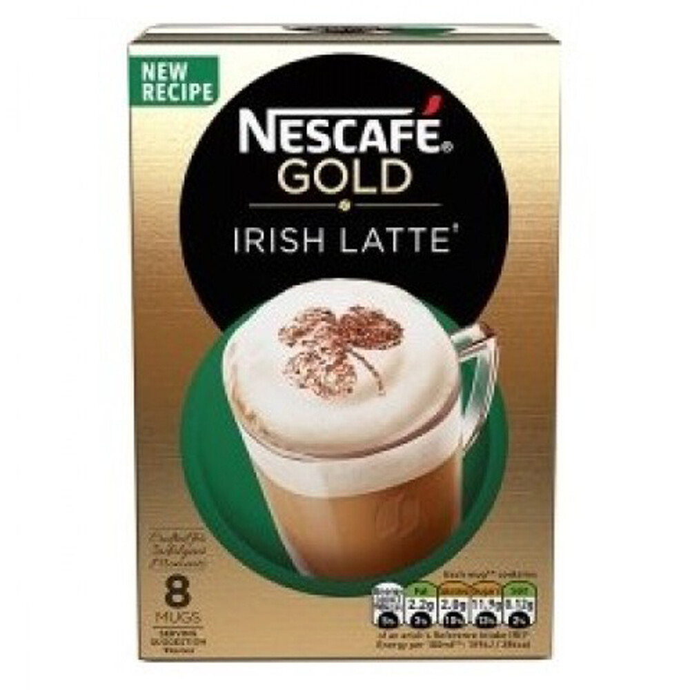 Irish Latte Nescafe Gold 8 Mugs