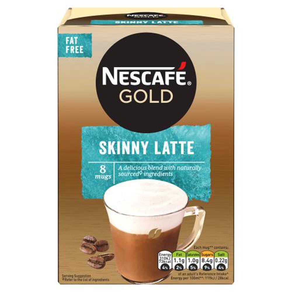 Nescafe Gold Skinny Latte Instant Coffee (UK)-8 Sachets