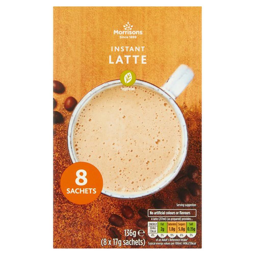Morrisons Instant Latte 8 Sachets