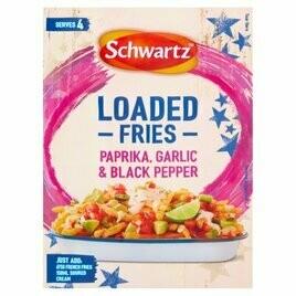 Schwartz Loaded Fries Paprika, Garlic