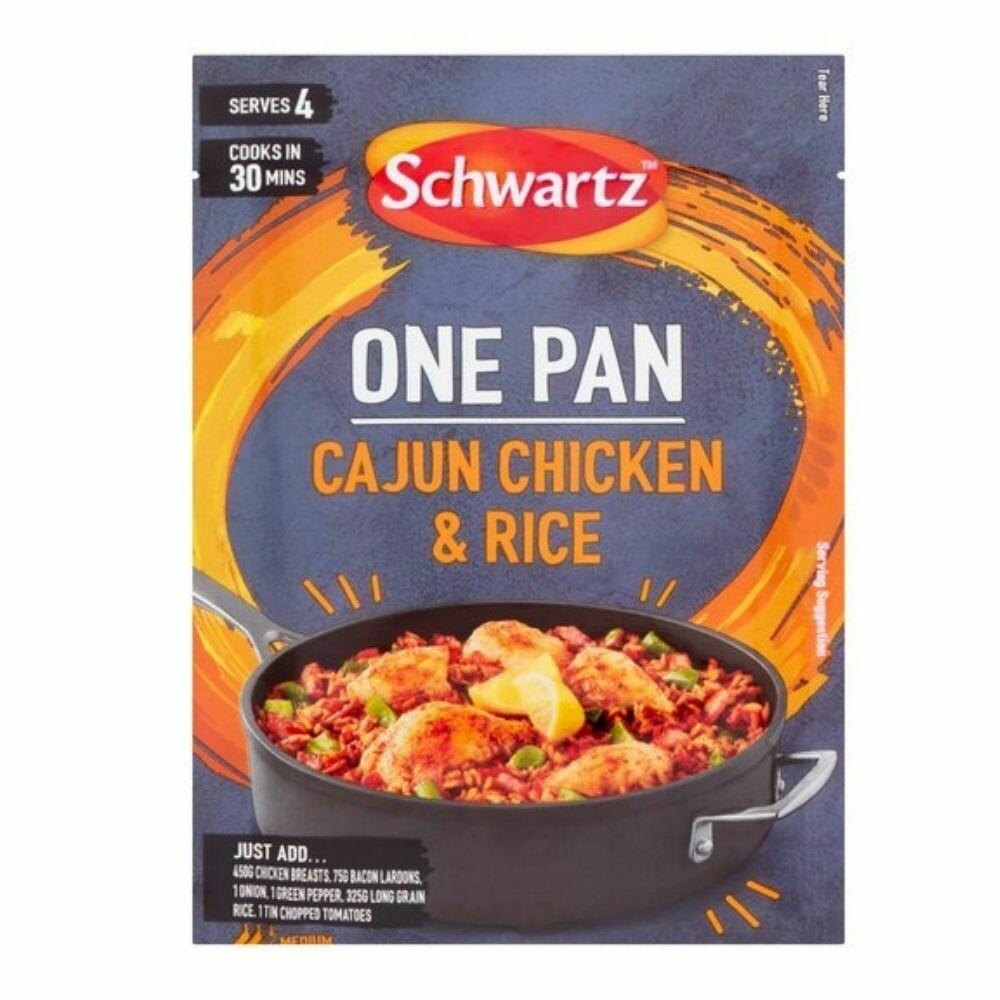 Schwartz Cajun Chicken & Rice