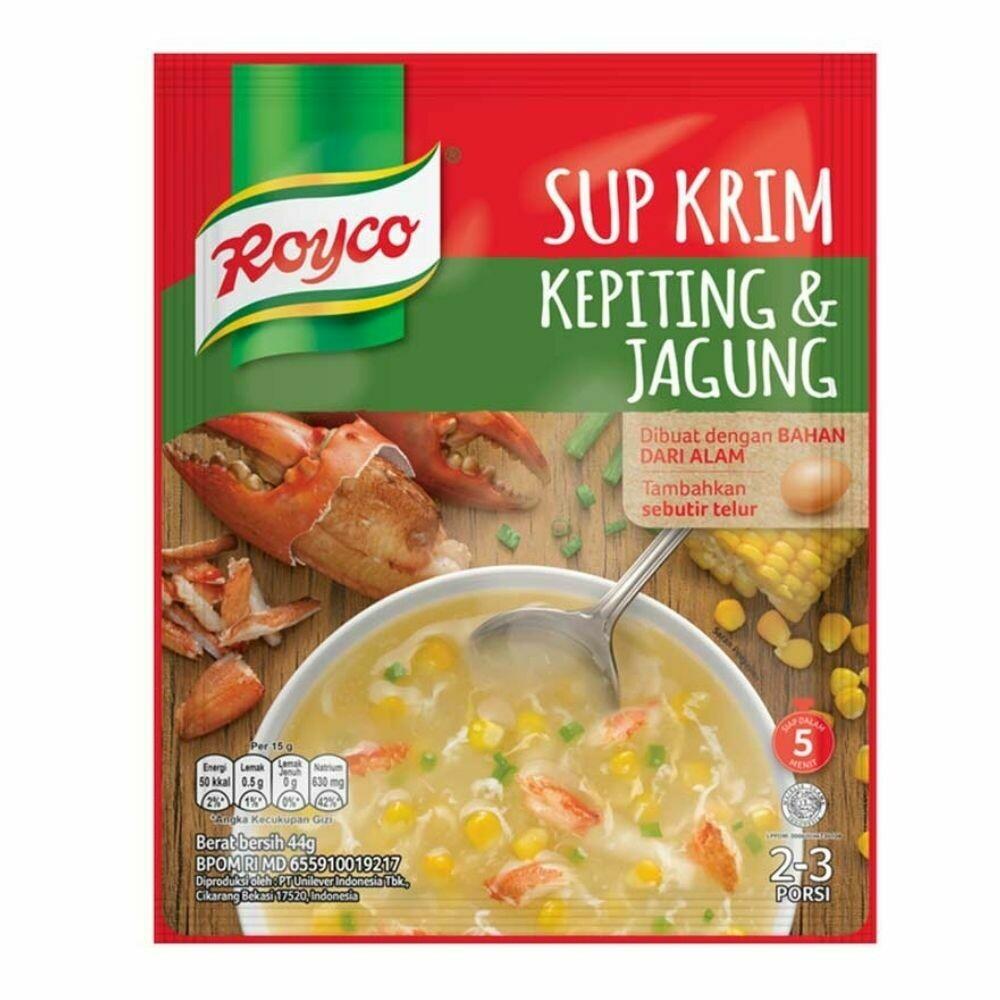 Crab & Corn Cream Soup-Royco