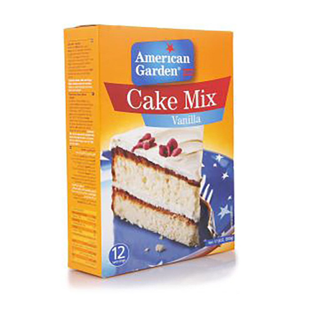 American Garden Cake Mix-Vanila