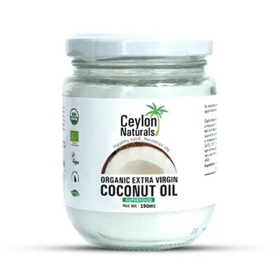 Ceylon Naturals Organic Extra Virgin Coconut Oil