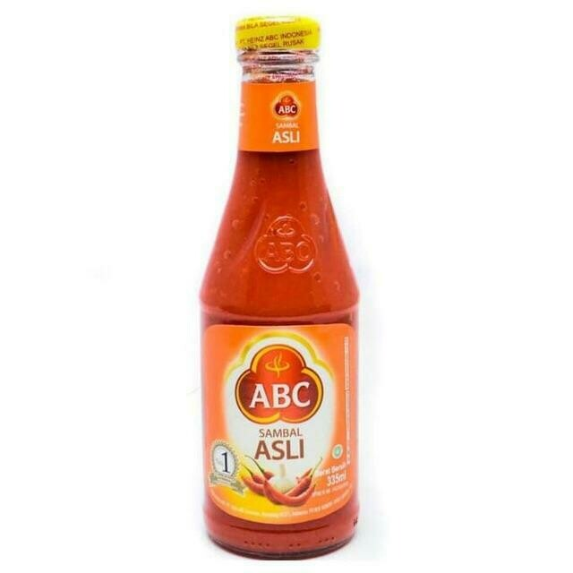 ABC Garlic & Chili Sauce (Sambal Asli)