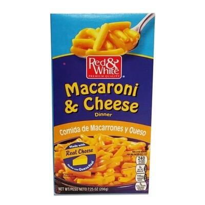 Red & White Macaroni & Cheese