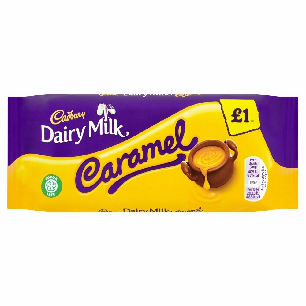 Cadbury Dairy Milk Caramel-120g
