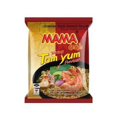 Shrimp Tom Yum Noodles- Mama