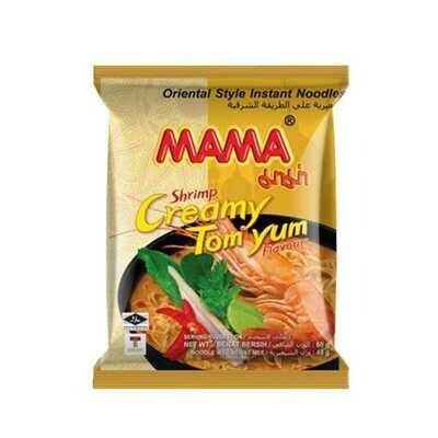 Shrimp Creamy Tom Yum Noodles- Mama