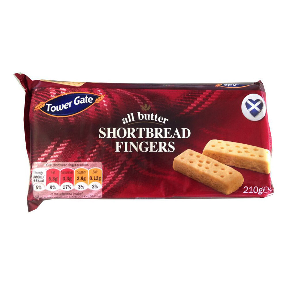 Short Bread Fingers Biscuit-Tower Gate
